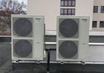 foto klimatizace venkovní jednotky